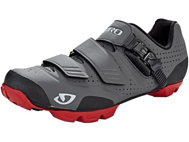 Giro Privateer R Shoes Men dark shadow/dark red